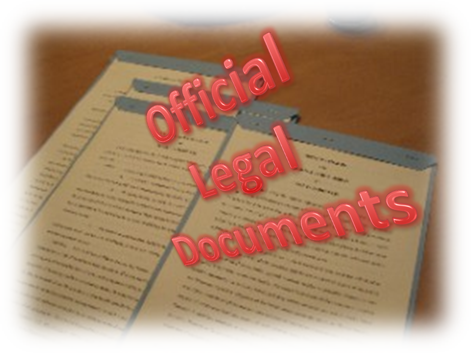 Official Legal Documents